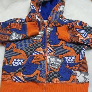 Geometric hoodie 18 month